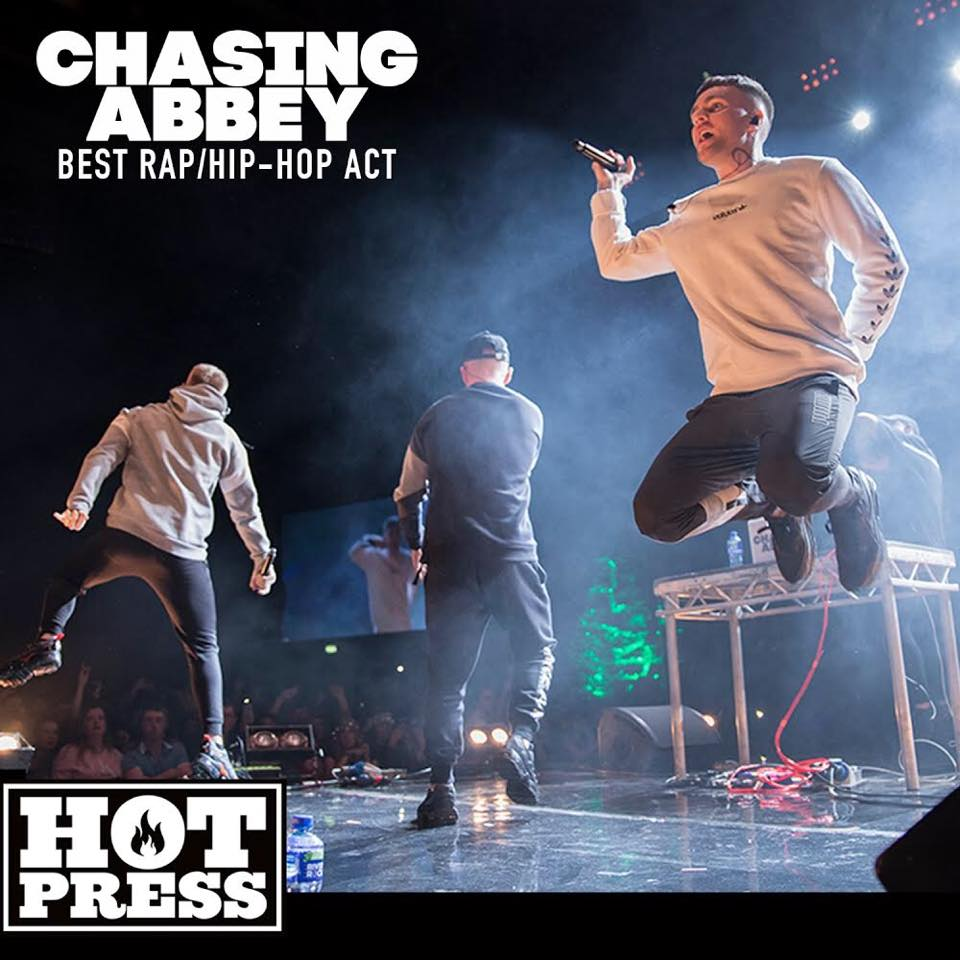 Chasing Abbey were recently named Ireland's Best Rap, Hip-Hop Act