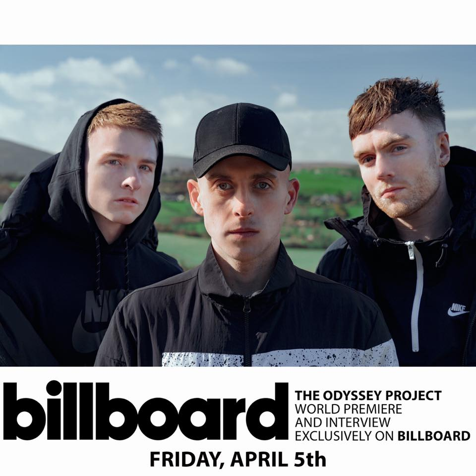 Chasing Abbey's new EP, The Odyssey Project, premieres on Billboard in the U.S. on April 5th.