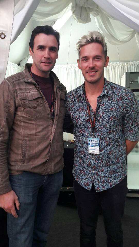 Pete Kennedy and Sam Palladio